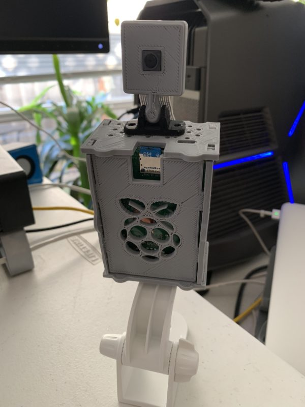Pi Cam v.2 Open Source Surveillance Camera