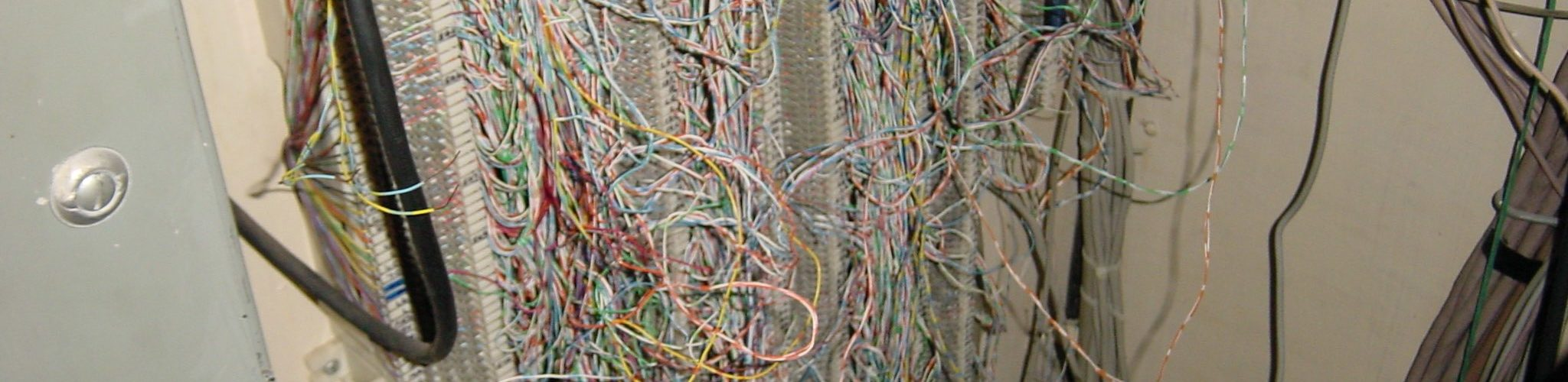 What do you think of this wiring mess?